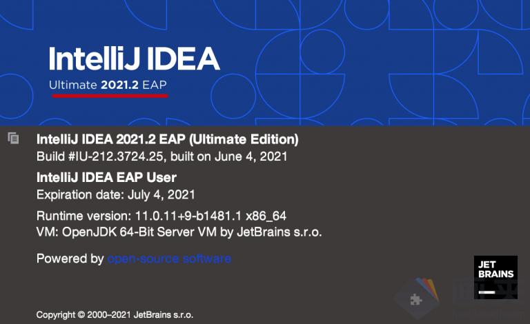 idea 2021.1激活码